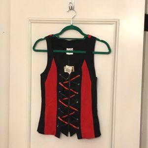 NWT Harley Quinn Vest